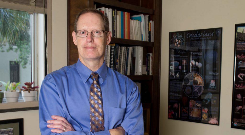 Professor John Weinstein in office