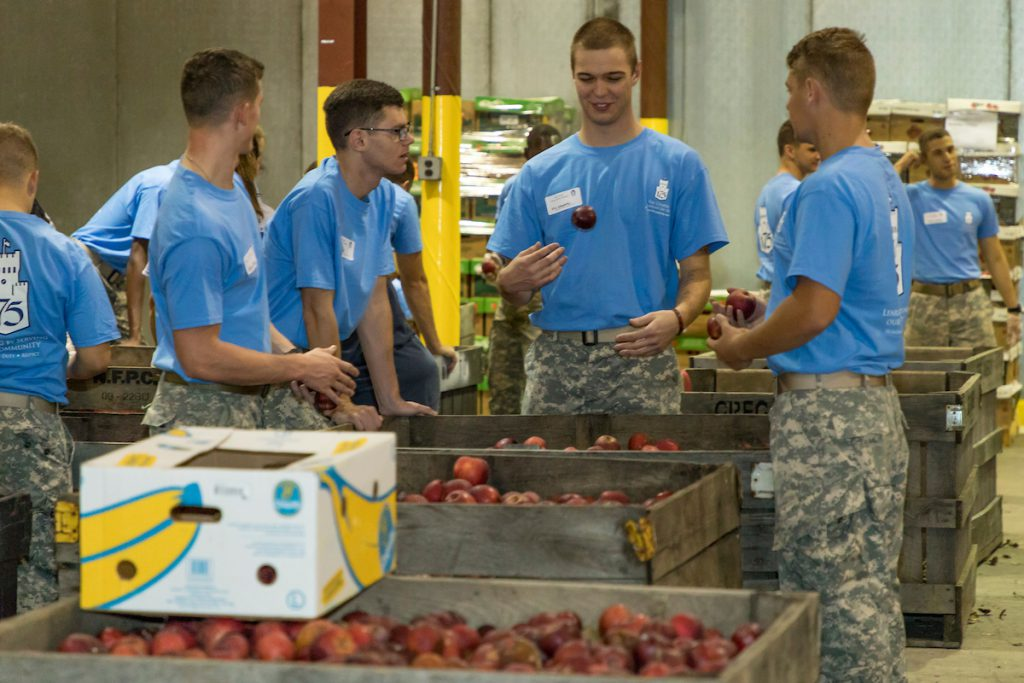 Cadets box produce