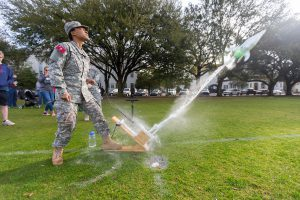 Storm the Citadel Water Bottle Rocket