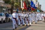 Cadets Marching Downtown Charleston