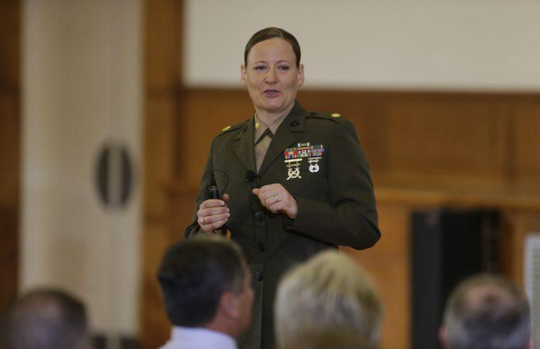 Col. Petra Lovetinska Seipel Speaking