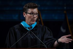 Stacy Pearsall Citadel Graduate College Commencement
