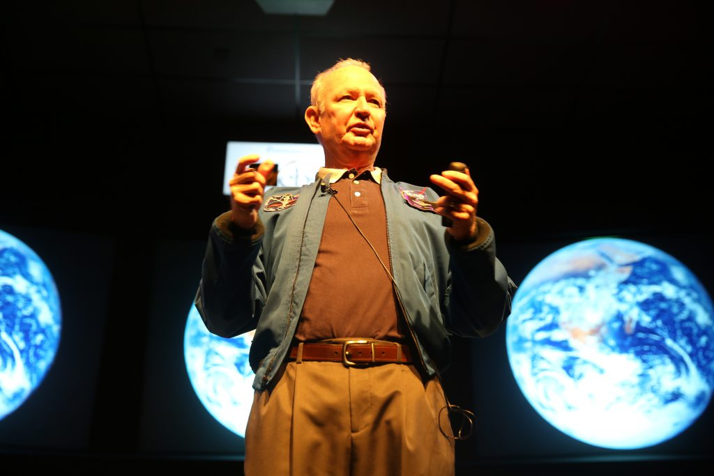 Astronaut Brian Duffy