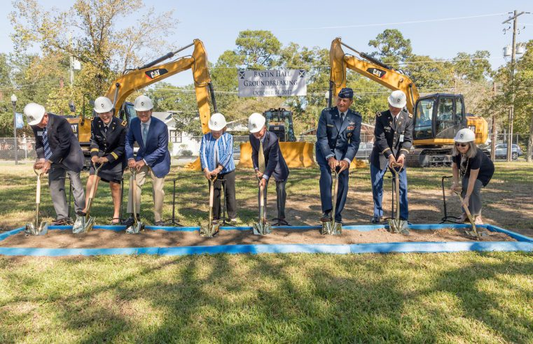 Bastin Hall Groundbreaking