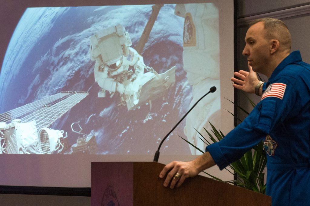 Col Randy Bresnik Spacewalk Citadel 175th Anniversary Luncheon
