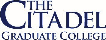 The Citadel Graduate College Logo