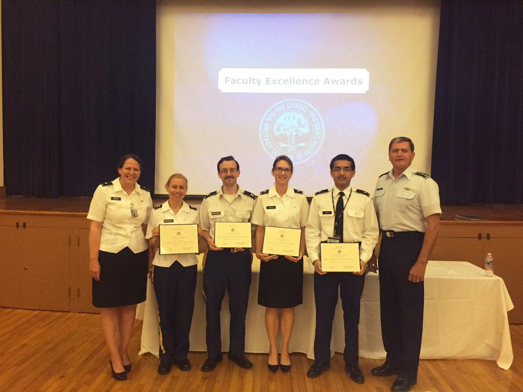Citadel Faculty Awards
