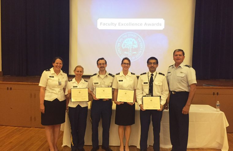 Citadel Faculty Awards