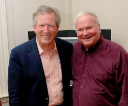 John Warley and Pat Conroy