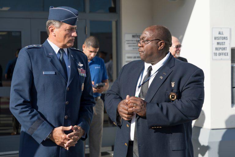 Military Magnet Leadership Day General Rosa