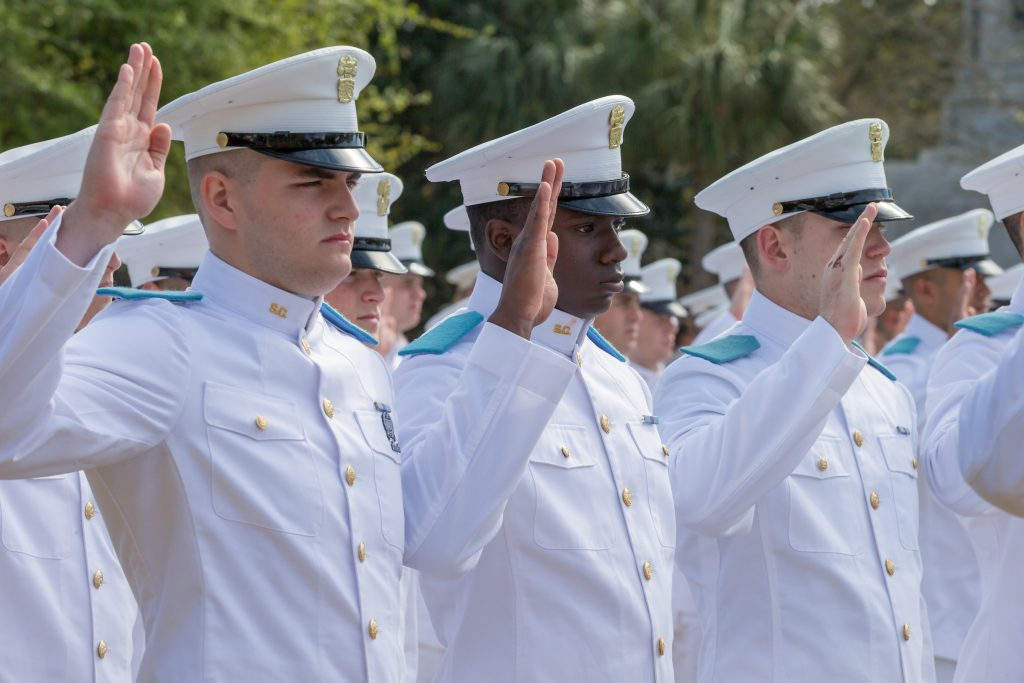 Citadel Recognition Day 2018 Oath Ceremony