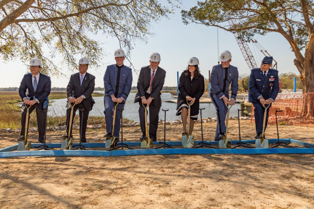 Swain Boating Center Groundbreaking