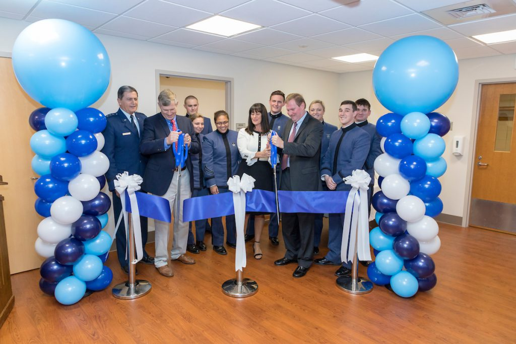 Swain Department of Nursing Simulation Lab Ribbon Cutting
