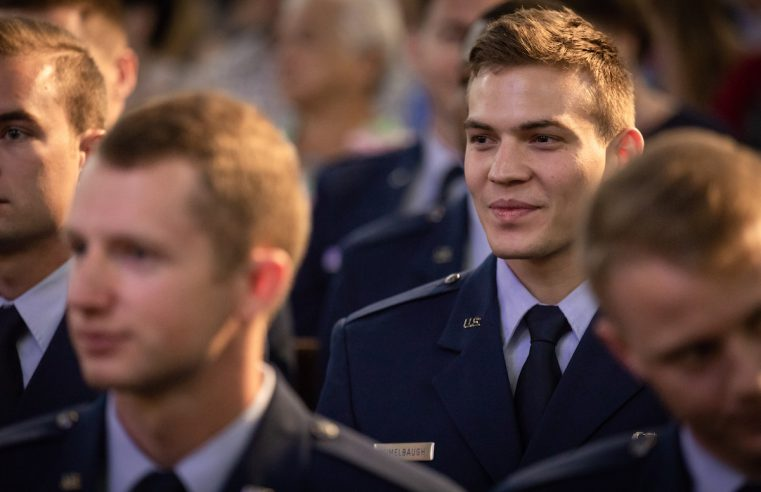 Chad Humelbaugh Air Force Commissioning