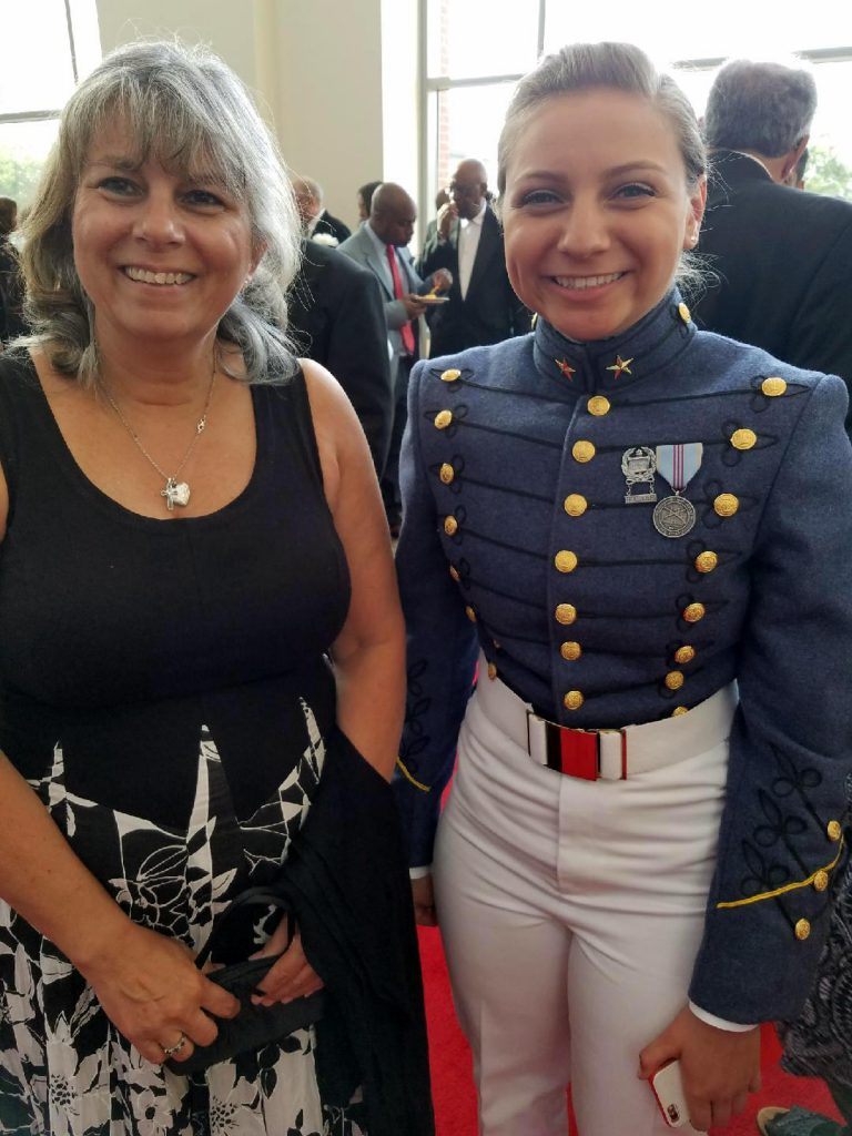 Amy Joseph and Cadet Rodreguez