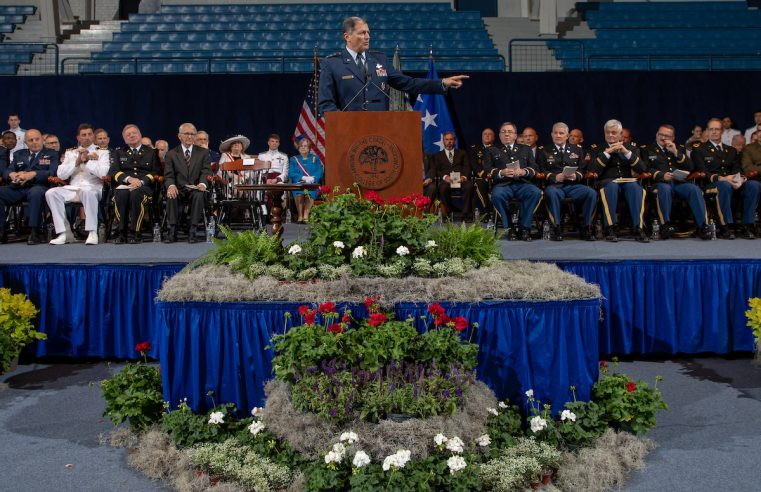 Gen. Rosa The Citadel Awards Convocation
