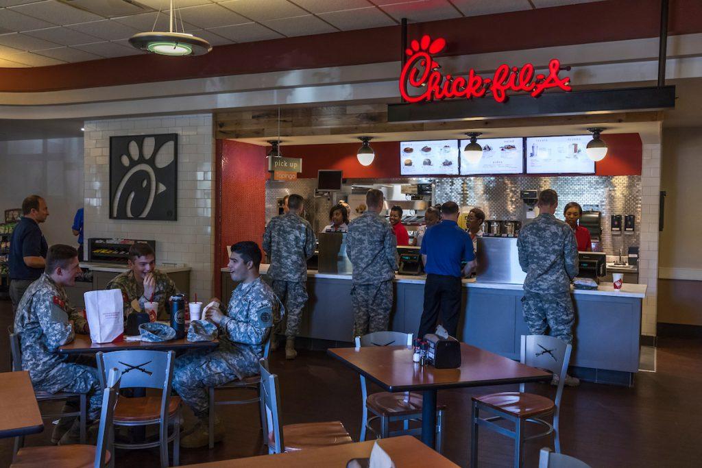 Citadel Canteen Chick-fil-a