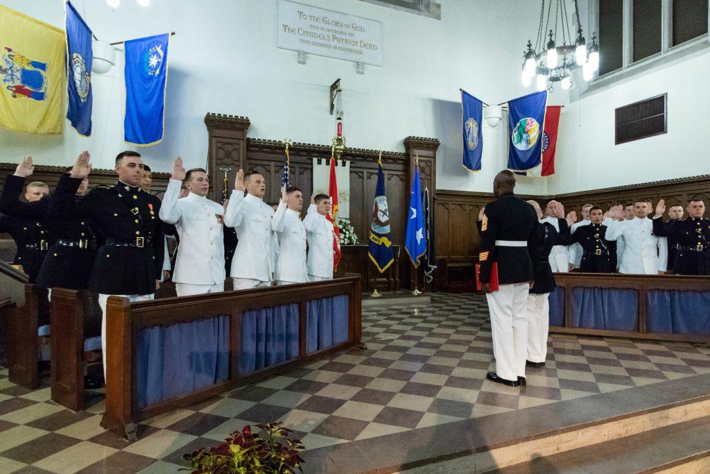 USMC Navy Commissioning 2018