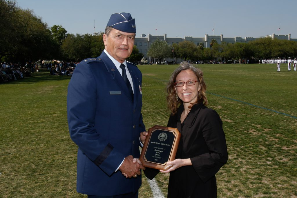 Citadel Employee of the Year 2018 Lori Hedstrom