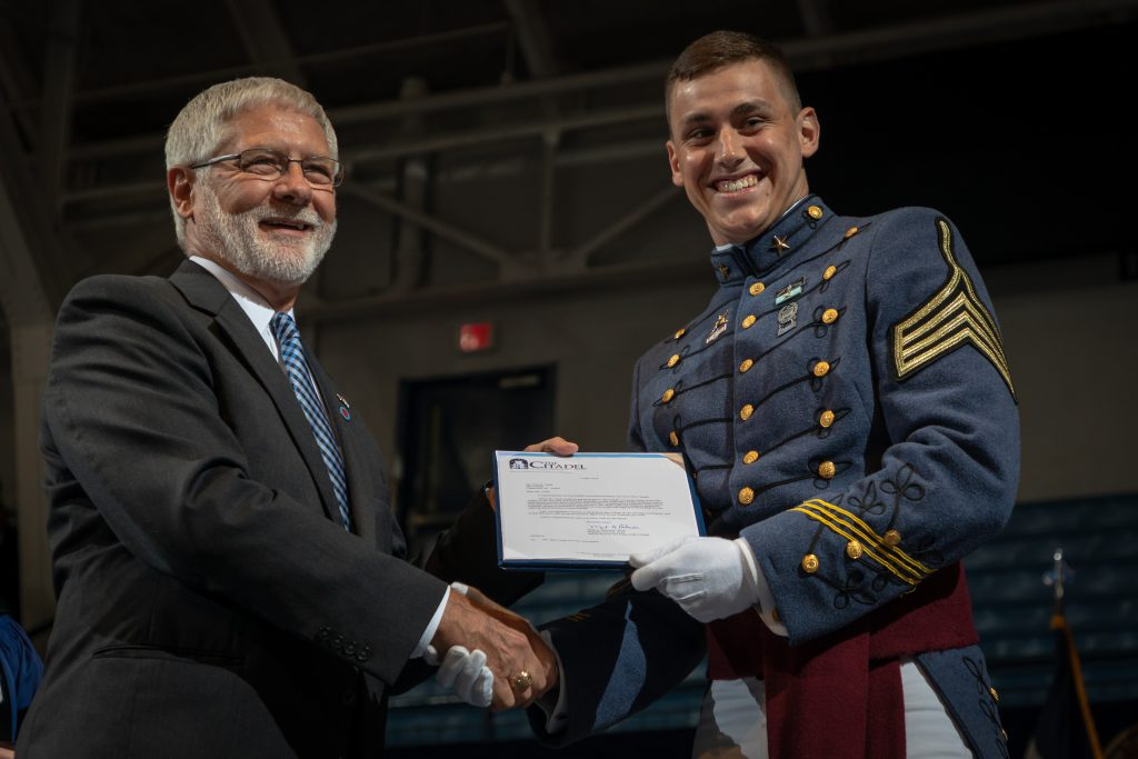 The Citadel South Carolina Corps of Cadets Graduation 2018