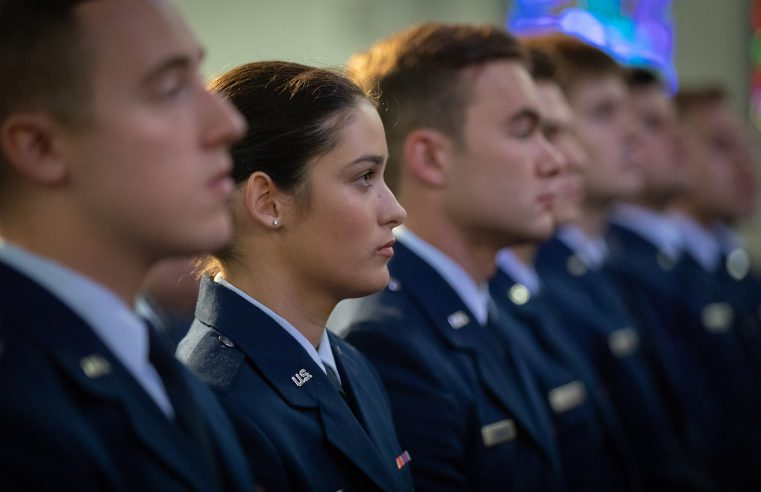 Citadel Air Force Commissioning 2018