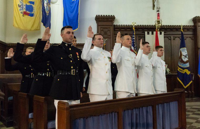 Citadel USMC Commissioning 2018