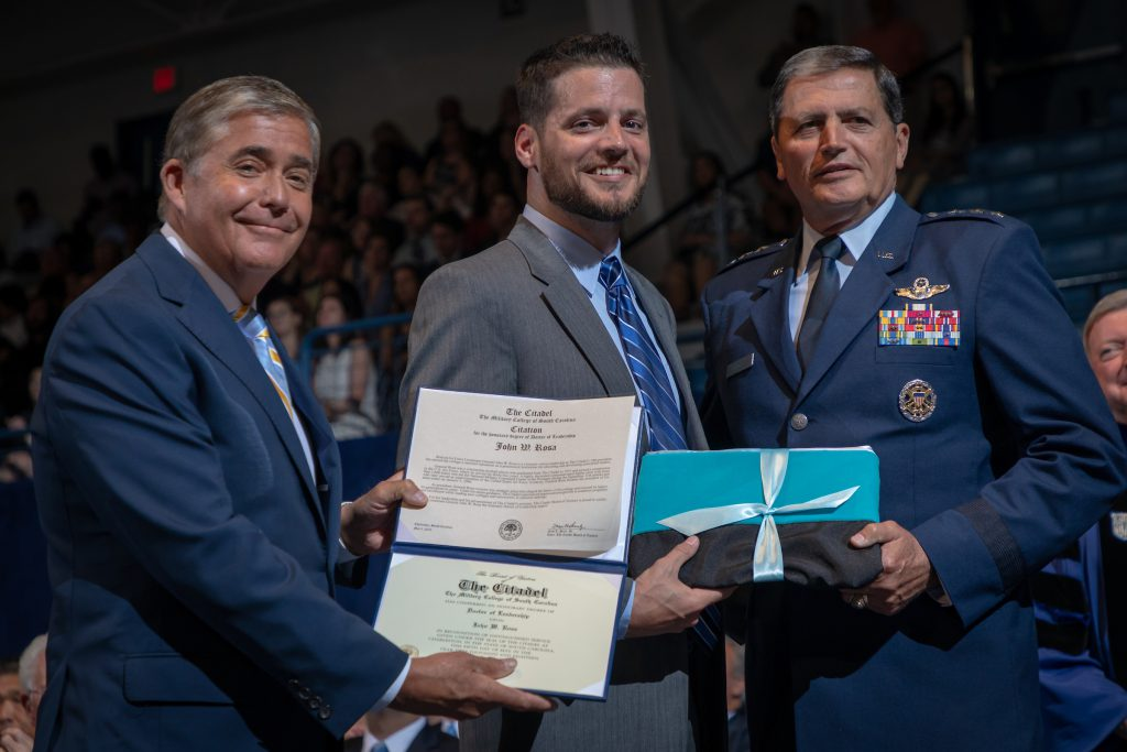 Gen. John Rosa Honorary Degree Recipient 2018