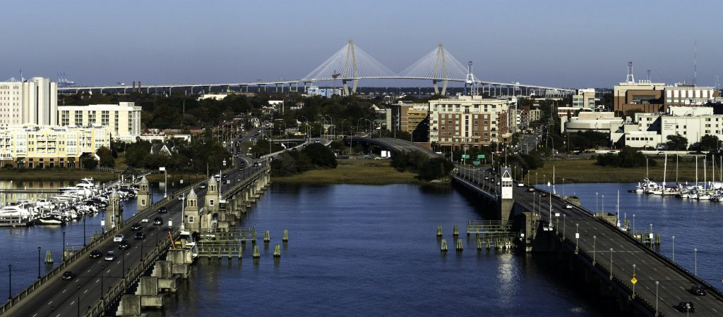 Water South Carolina Bridges Charleston Historic