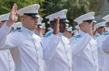 Citadel cadets Oath Ceremony