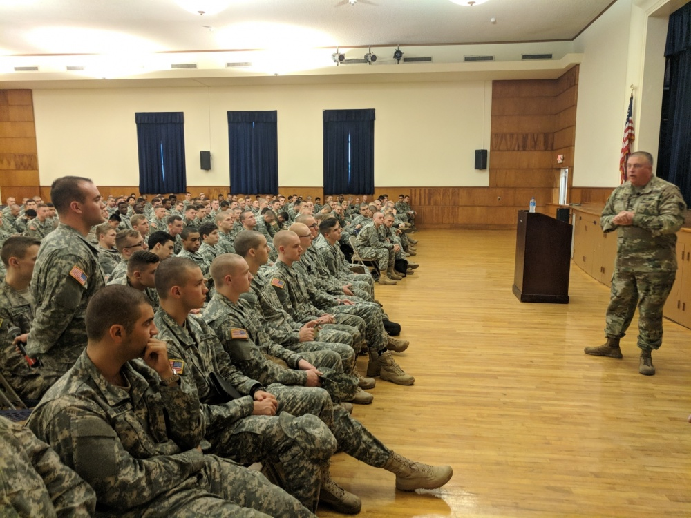 SC National Guard Visits Army ROTC