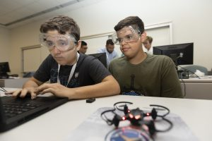Students Program Drones at GenCyber Camp