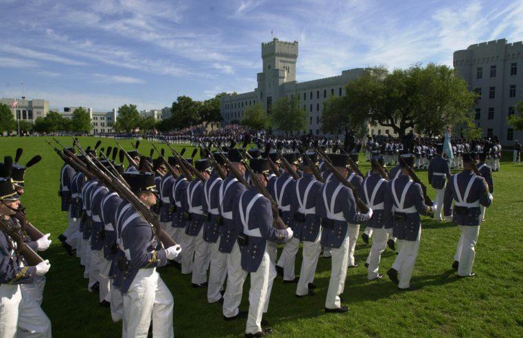 Citadel Dress Uniform Parade