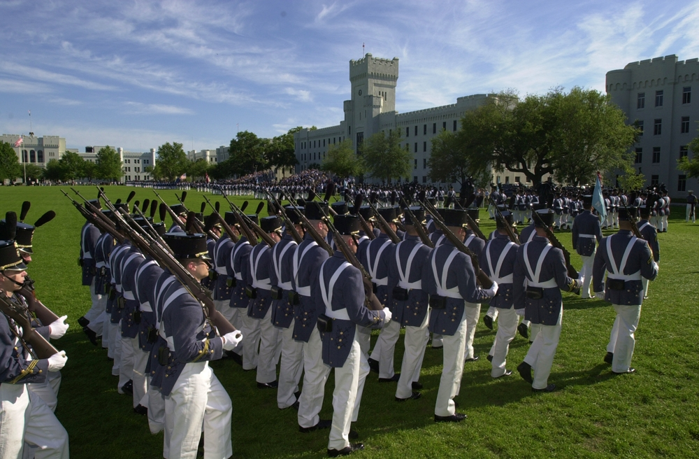 Citadel Dress Uniform Parade