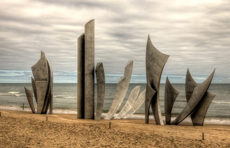 Omaha Beach Monument Normandy