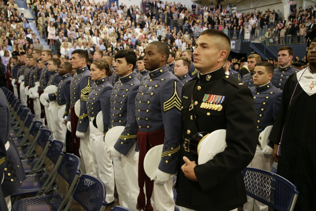 Citadel 2017 graduation
