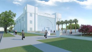 Bastin Hall Rendering