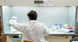 Cadet John DeStephano identifying movement within cells