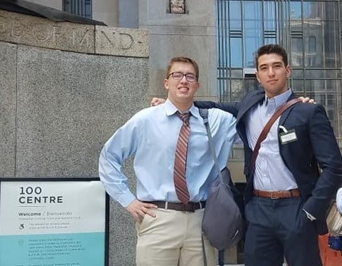 Grady Edwards internship pic summer 2018