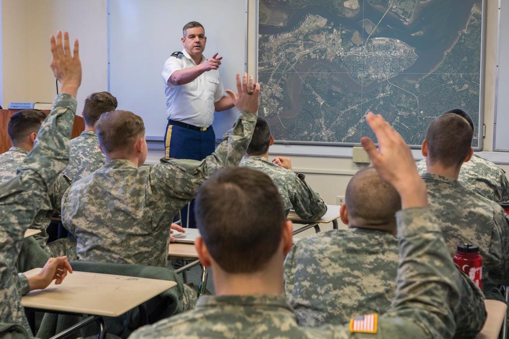 Mike Brady Teaches Intel Class