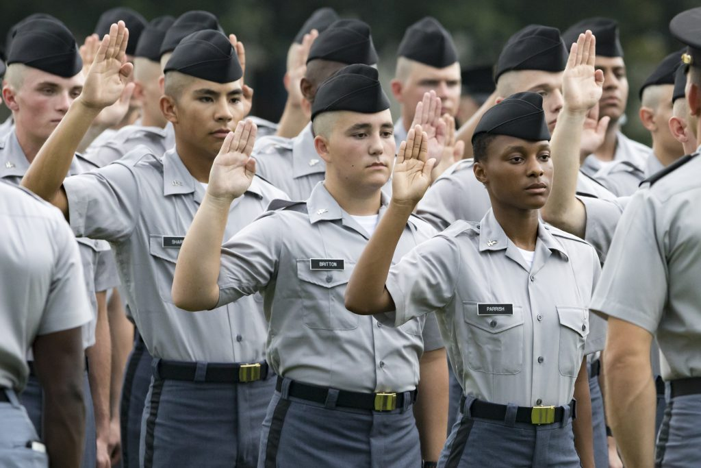 Cadets Oath Ceremony