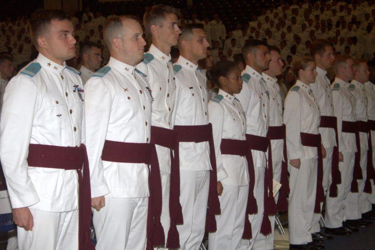 cadets white uniform