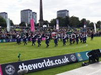 Dillahey with City of Dunedin Pipe Band, in 2017 world competitions