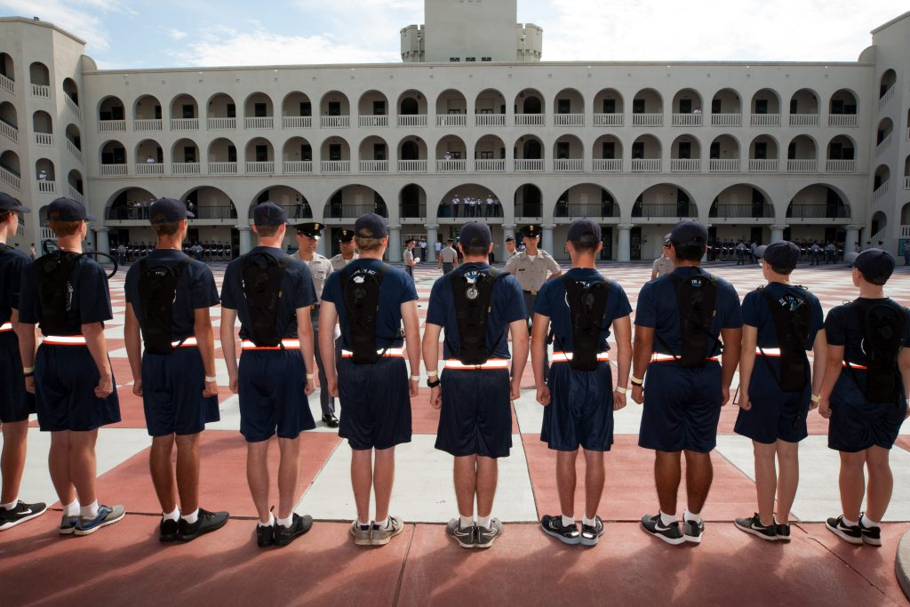 Citadel Class of 2022 Matriculation Day 2018