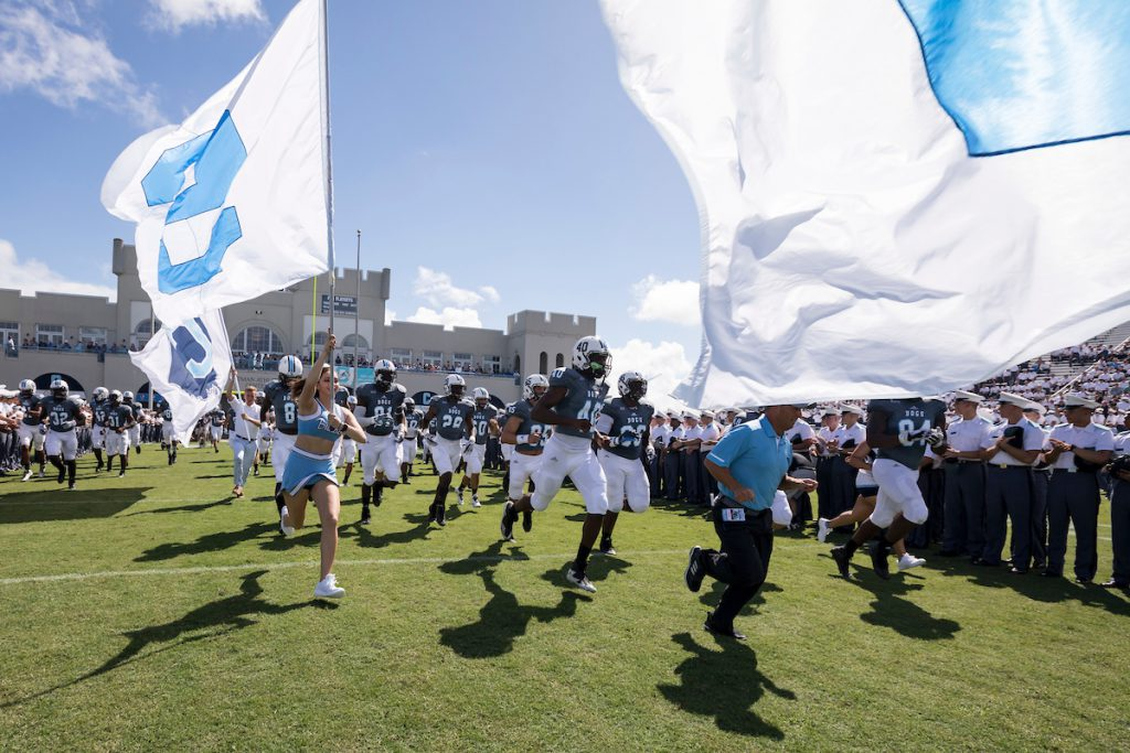 Citadel Football Entrance