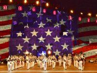 The Citadel as America's Band 2015 at Royal Edinburgh Military Tattoo