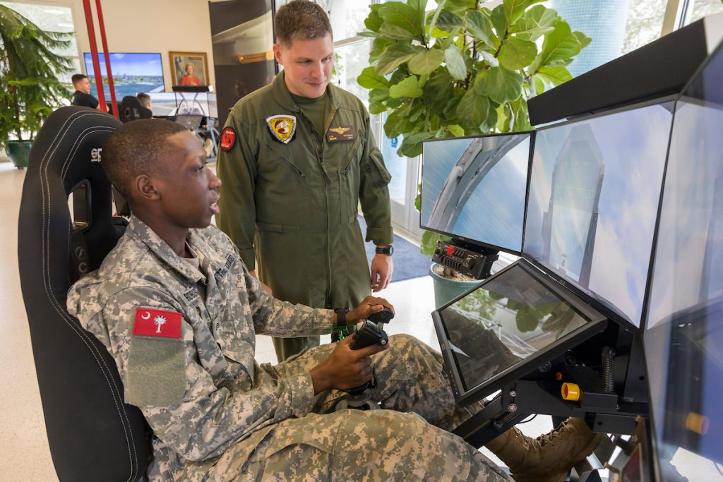 Marine Flight Simulation