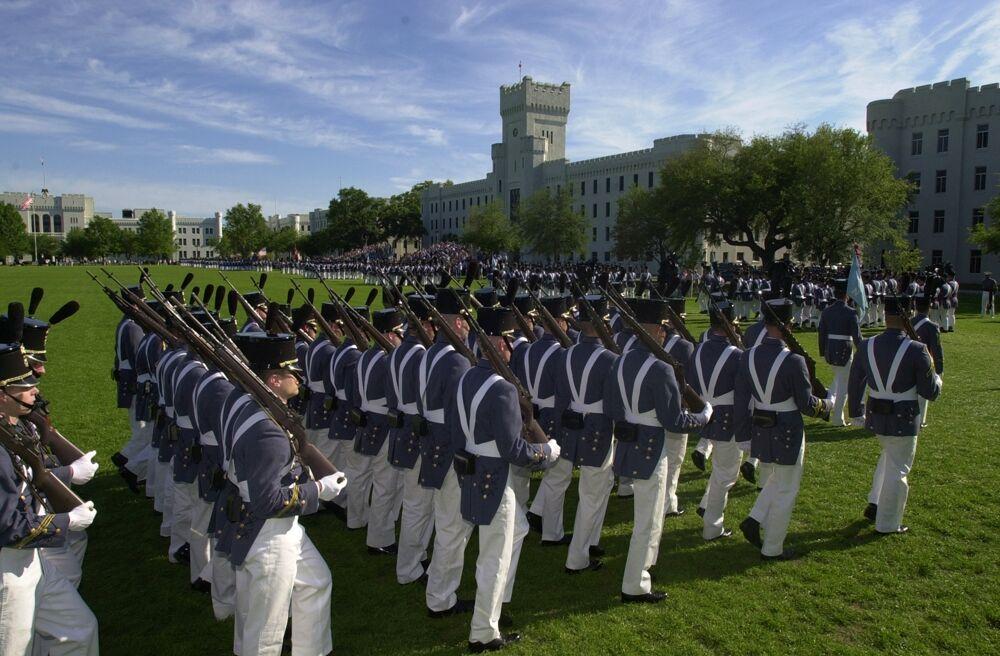 Citadel Military Review Parade