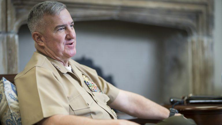 General Glenn Walters at The Citadel
