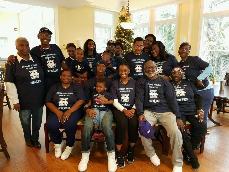 Cadet Jariek Richburg's cancer support group