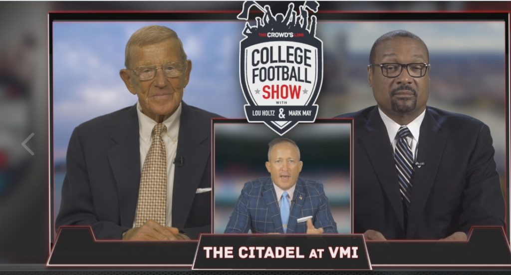 The Crowd's Line College Football Show with Lou Holtz & Mark May